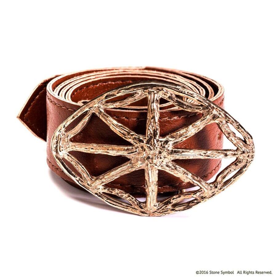 Agape Bronze Belt Buckle