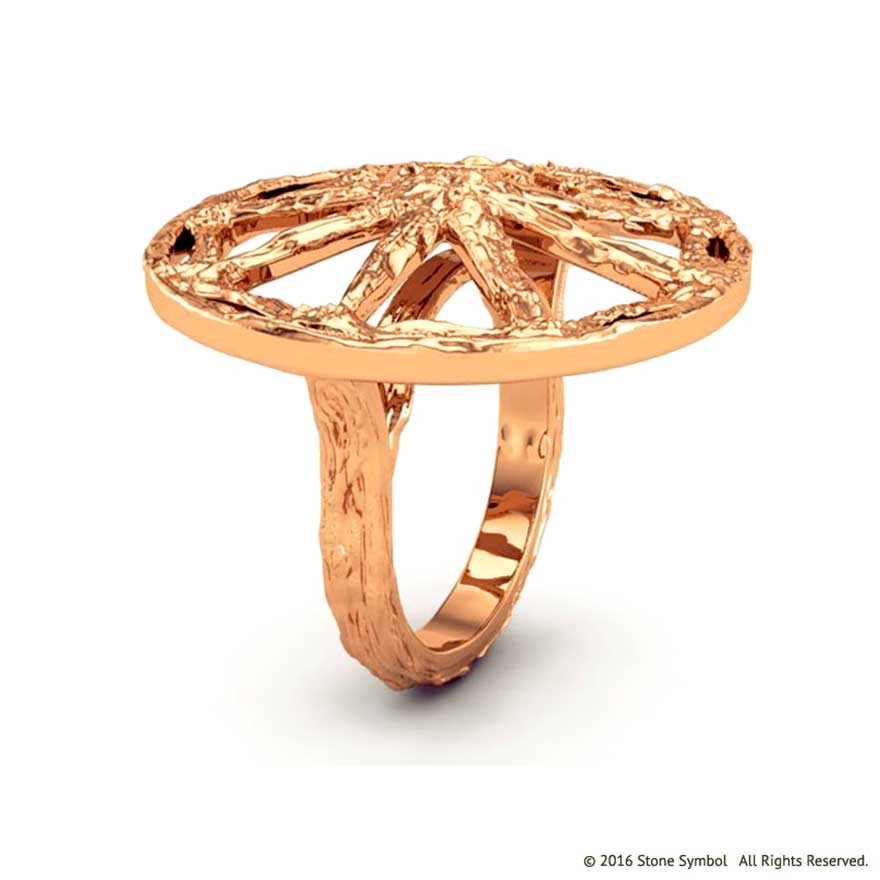Antiquity Ring Rose Gold