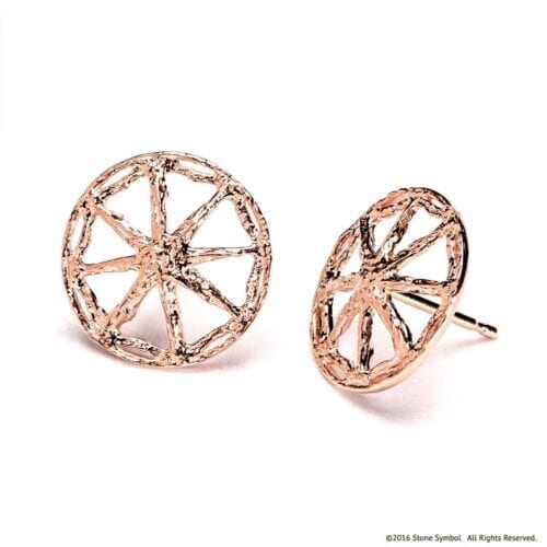 Essential Unearthed Earrings Rose Gold