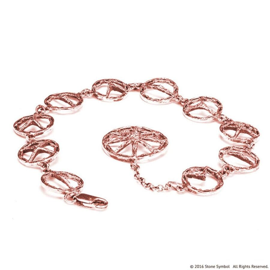 Suspended Unearthed Bracelet Rose Gold