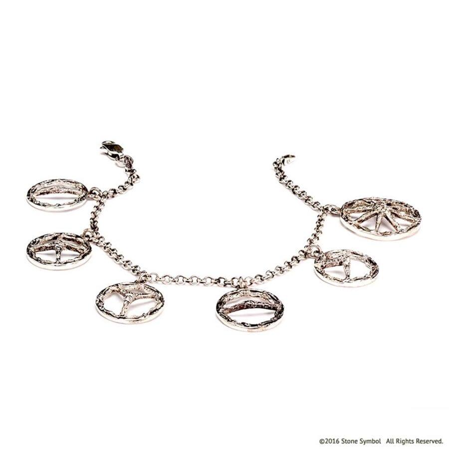 Theotokos Unearthed Bracelet Silver