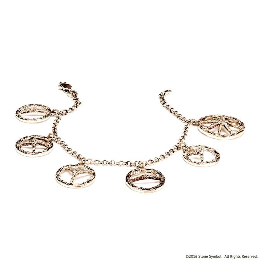 Theotokos Unearthed Bracelet White Gold