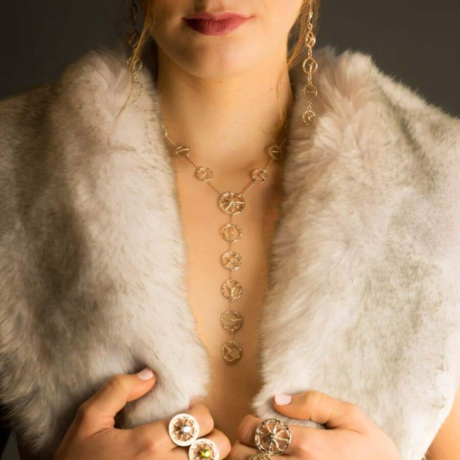 "Trinity ""S"" Necklace"
