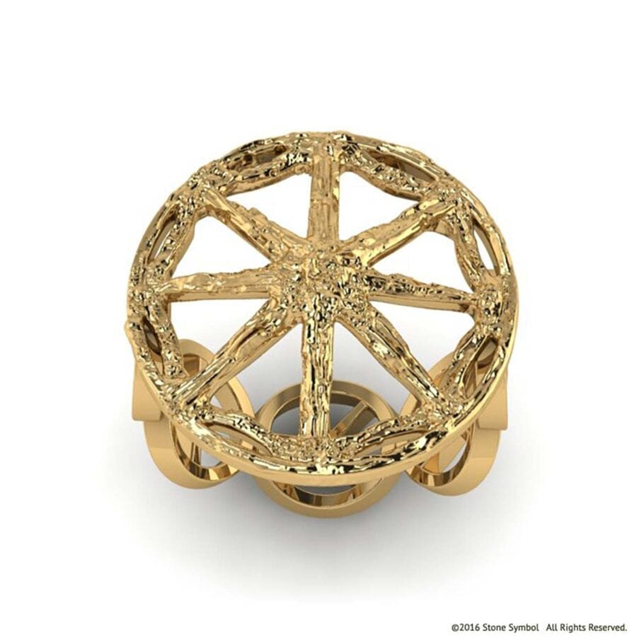 Unity Ring Yellow Gold