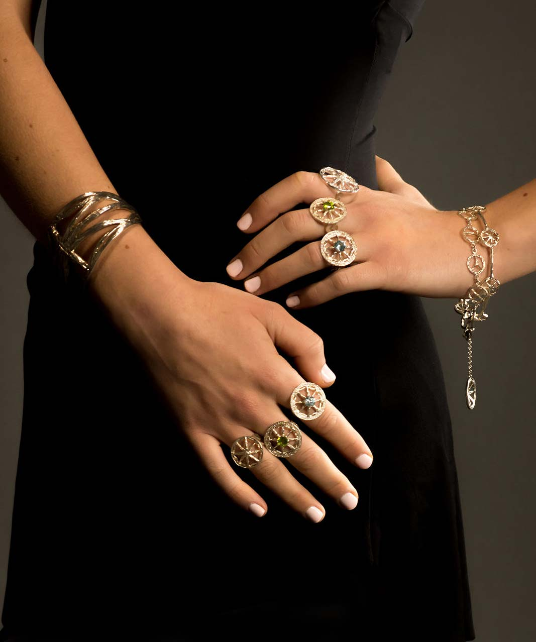 Stone Symbol Jewelry Bracelets, Bangles and Cuffs for Women